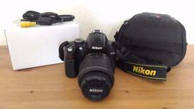 Reflex camera Nikon D5000