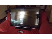 "42"" PLASMA TV WITH BUILT IN FREEVIEW"