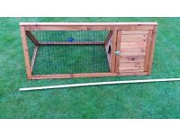 Triangle Wooden Cage Guinea Pig Animal House