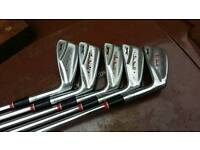 Slazenger irons 4,5,6,7 and 8