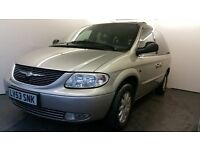 2003   Chrysler Voyager 2.5 CRD LX 5dr   1 Year MOT   Service History   Air con   MOB 07507467272
