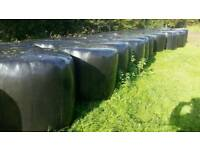 Round bale quality silage
