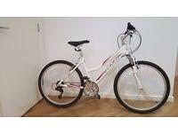Raleigh Women Activ Jura Mountain Bike - White 17-Inch
