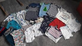 3-6 months boys bundle Inc. Some 6-9