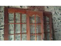 Internal Glazed French Doors