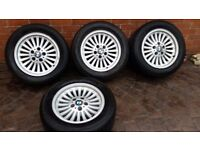 BMW e39 Alloy Wheels style 33 excellent condition 5-series 520 523 525 528 530