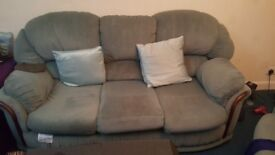 Three piece and two piece sofa