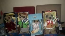 Meerkat collectable plush