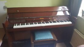 Eavestaff Mini Piano. In good used condition. Comes with original storage seat. £80ono