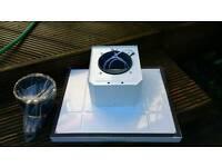 Kitchen extractor hood fan 600mm