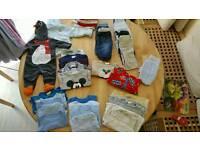 0-3 mths boy clothes bundle
