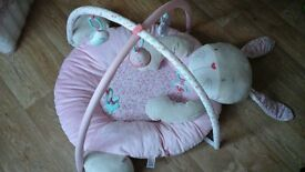 Mothercare Luxury Pink Bunny Baby Gym £15