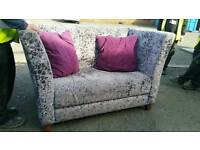 Crushed velvet CSL Sofas. X 3 available. Price is each
