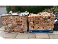 Reclaimed Chimney Bricks 50p each or 1000 bricks for £250