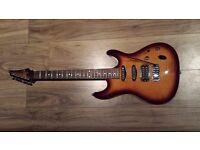 Ibanez SA Series Electric Guitar, Brown Burst