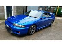R33 skyline ( may px for 530d ) not s14 Silvia chaser evo