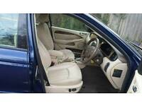 Jaguar X-Type 2.5 4WD Automatic Blue with Full Cream Leather Seats