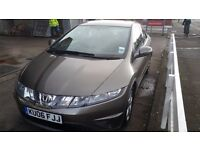 Honda civic 2.2 diesel 12 months mot full service history £130 tax a year hpi clear superb running