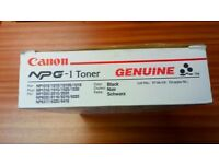 Canon NPG-1 Toners - New, box of 4.