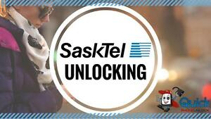 SASKTEL UNLOCKING SERVICE --- APPLE, BLACKBERRY, HTC, LG, MOTOROLA, NOKIA, SAMSUNG, SONY, ZTE