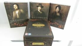 DEADWOOD THE COMLETE HBO 12 DVD BOXSET COLLECTION. SEASON 1, 2 AND 3.