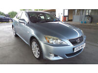 2006 LEXUS IS 220D 175 BHP BLUE MOTD *PART EX WELCOME*FINANCE AVAILABLE*WARRANTY*