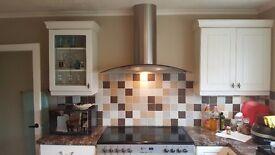 Brand new, still in box, cooker hood for a range cooker (100cm wide)