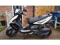 TGB 125cc Scooter - Mot Till 01-09-18