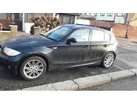 BMW 118d M Sport Black 07reg