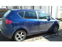 seat altea 2.0 tdi Spares /repair unrecorded ALL PARTS