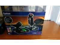 Saitek x52 Pro flight stick