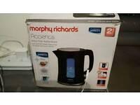 Morphy Richards black accents kettle
