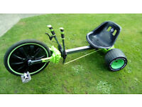 HUFFY GREEN MACHINE 20 INCH KIDS DRIFT TRIKE