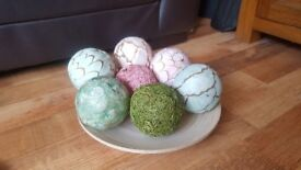 small bowl and balls ornament