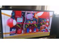 """SAMSUNG 51"""" PLASMA TV SMART/WIFI/3D/600HZ/MEDIA PLAYER/FREESAT/FREEVIEW HD EXCELLENT COND. NO OFFERS"""