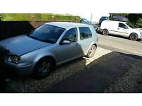 Vw golf sdi 2002 spares or repairs