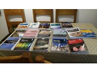 16 undergraduate Law Textbooks (used for the GDL & LLB Course)