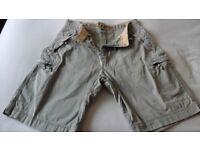 Lambretta cargo shorts, size 34