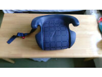 Booster seat by Britax.