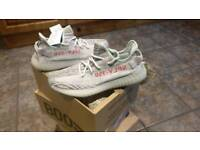 Brand new with tags size 9uk yeezy blue tint