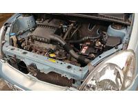 Toyota Yaris 8month MOT VVTI 1.0