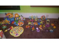 Bundle of educational/interactive toys Fisher price vtech little tikes all good working order
