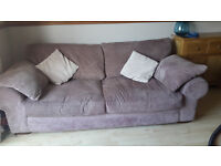 Two, large 3 seater sofas. £150 each- from a smoke and pet free house