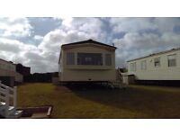 Luxury static caravan at Hoburne, Blue Anchor near Minehead with sea views on premier pitch