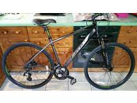 Carrera crossfire two hybrid bike mountain bike