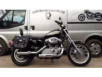 DEPOSIT RECEIVED 2004 HARLEY DAVIDSON XL1200R ROADSTER WITH BAGS, FORWARD CONTROLS