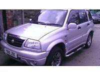 Suzuki GRAND VITARA PETROL 2.5 2001 MANUAL