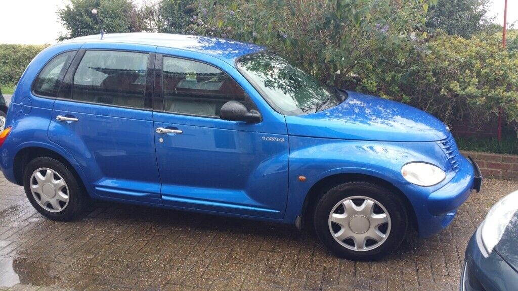 Blue Chrysler Pt Cruiser 2 0ltr Petrol Be One Of The Elite Owners