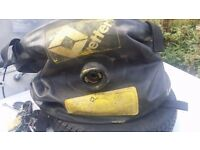 Vetter Truck recovery air bag system.