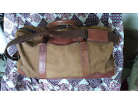 Timberland leather/suede large holdall
